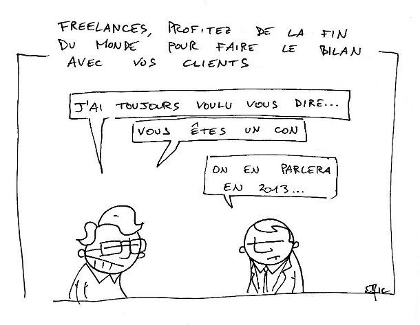 fin du monde du freelance