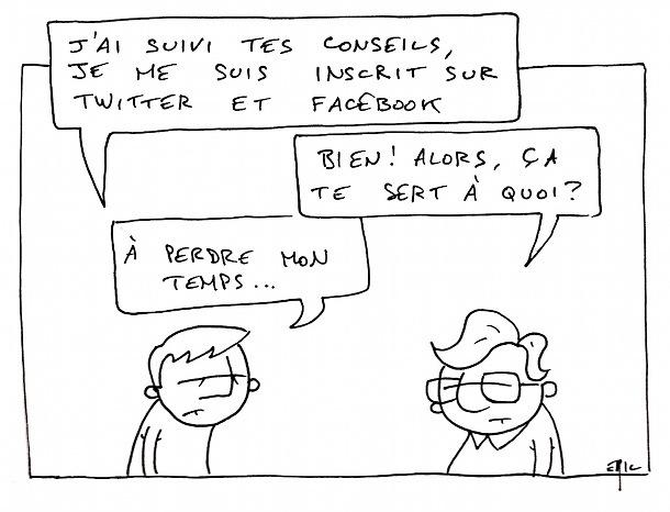 freelance twitter facebook