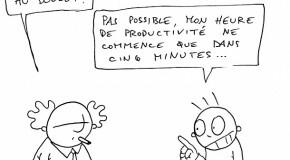 Quel est le moment le plus improductif de la journée ?