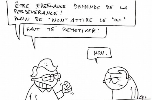 L'illustration freelance du vendredi