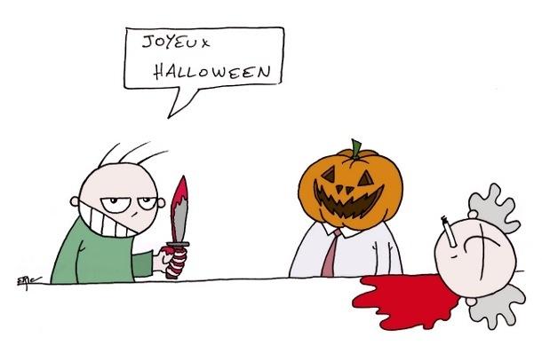 halloween au boulot