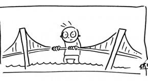 Y'a du monde sur le pont