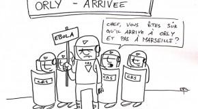 Ebola aurait 75% de chances d'arriver en France d'ici le 24 octobre