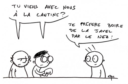 Cantine or not cantine ?