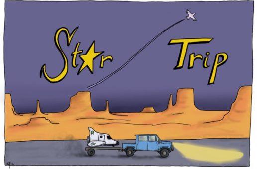 [pub copinage] Foncez acheter le roman «Star Trip»