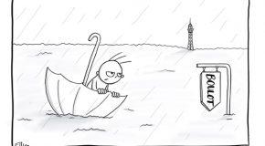 Lundi pluvieux, lundi heureux…