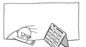 Mon calendrier de  la semaine
