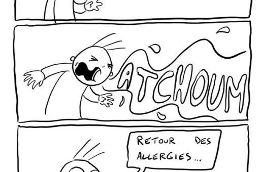 Retour des allergies…