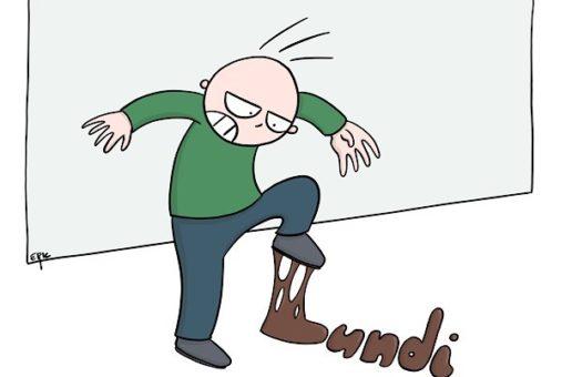 Du pied gauche